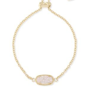 Kendra Scott Elaina Gold Adjustable Chain Bracelet